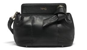 Lipault Noelie Crossbody Bag in the color Black.