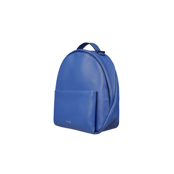 Lipault By The Seine Nano Backpack in the color Cobalt Blue.