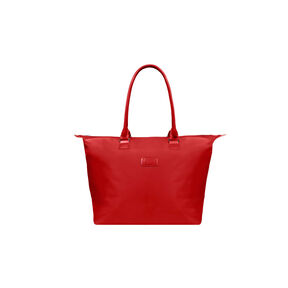 Lipault Lady Plume Tote Bag M in the color Ruby.