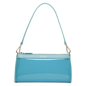 Lipault Pop 'N' Gum Small Clutch Bag in the color Coastal Blue.