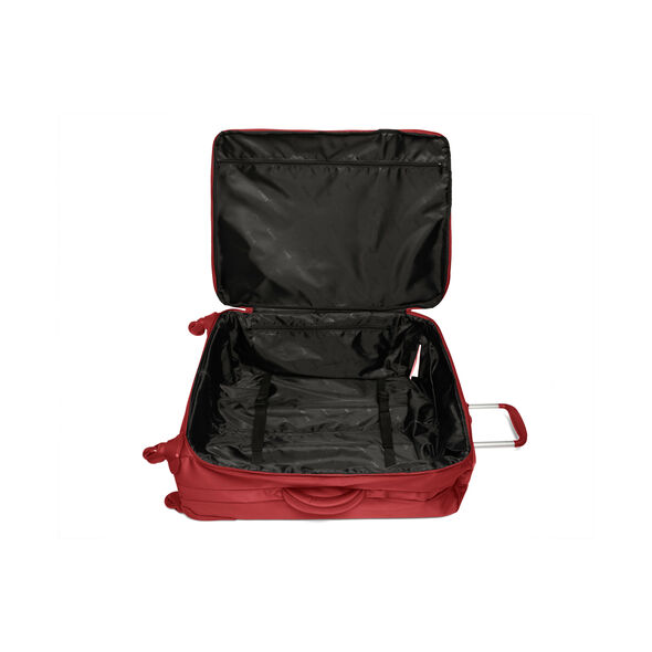 Lipault Original Plume Spinner 72/26 Packing Case in the color Cherry Red.