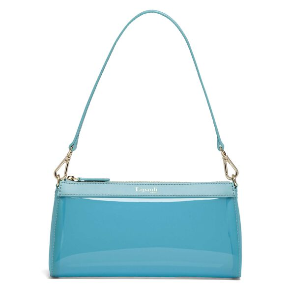 Lipault Pop N Gum Small Clutch Bag in the color Coastal Blue.