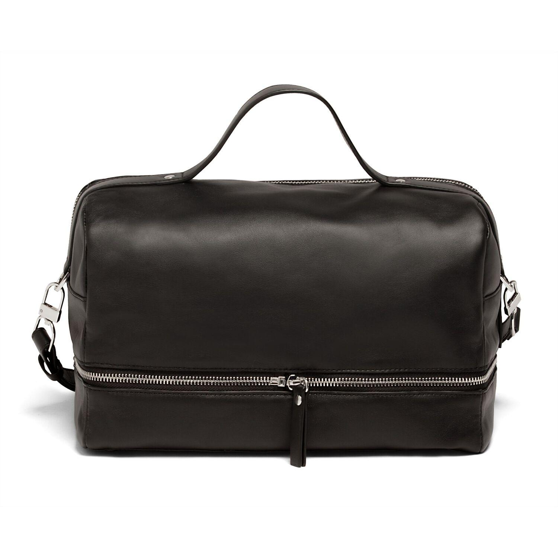 d7513b47100c Lipault Jean Paul Gaultier Boston Bag in the color Black.