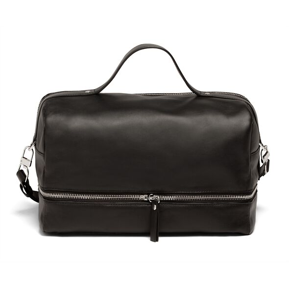 Lipault Jean Paul Gaultier Boston Bag in the color Black.