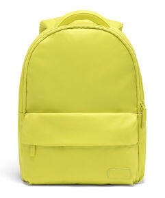 Lipault City Plume Backpack in the color Flash Lemon.