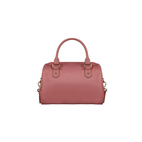 Lipault Plume Avenue Bowling Bag S in the color Azalea Pink.