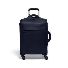 Lipault Original Plume Spinner 55/20 Carry-On in the color Navy.