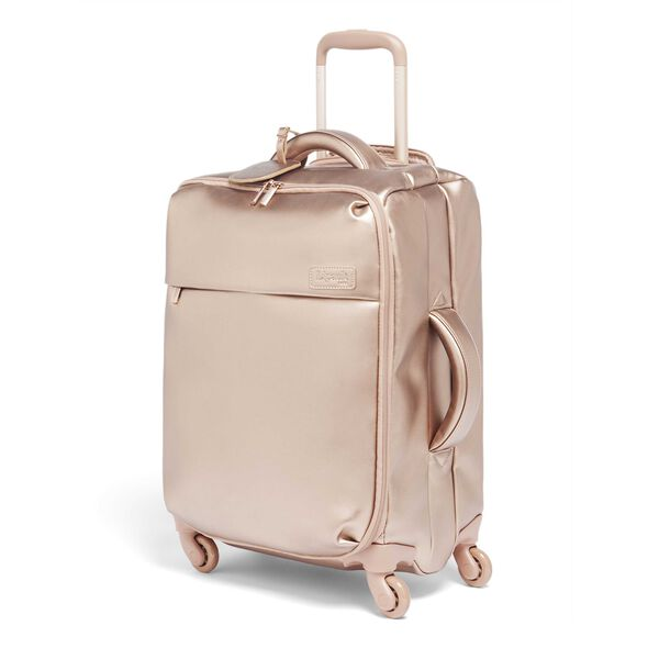Lipault Miss Plume Spinner 55/20 in the color Pink Gold.