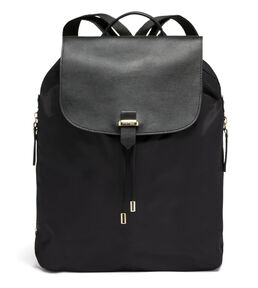 """Lipault Plume Avenue 15"""" Laptop Backpack in the color Black."""