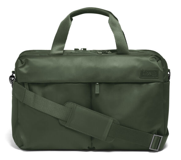 Lipault City Plume 24 Hour Bag in the color Khaki Green.