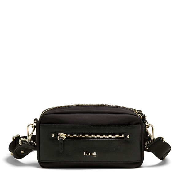 Lipault Plume Avenue Belt Bag in the color Black.