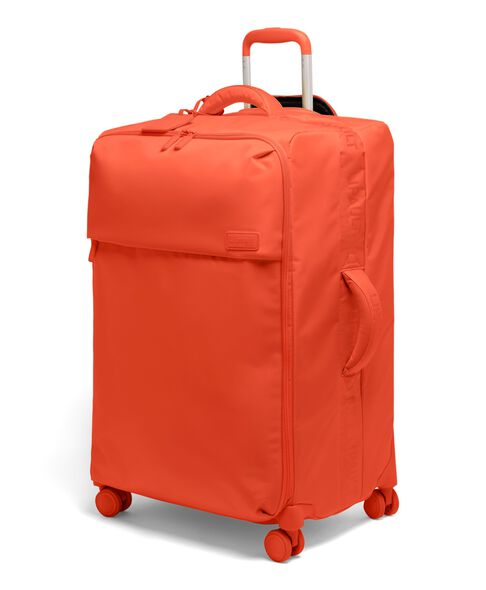 Plume Long Trip Packing Case in the color Flash Coral.