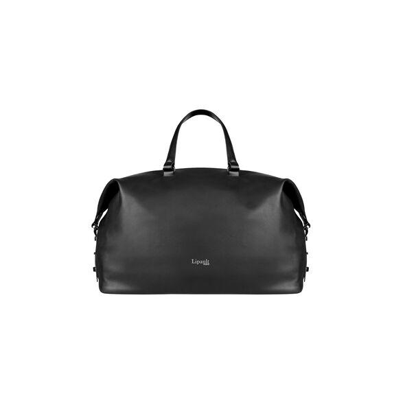 Lipault Plume Elegance Weekend Bag in the color Black Leather.