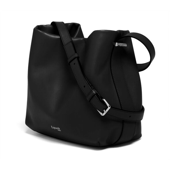Lipault By The Seine Bucket Bag in the color Black.
