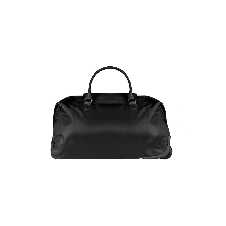70c8c27ae Lipault Plume Avenue Wheeled Duffle Bag in the color Jet Black.