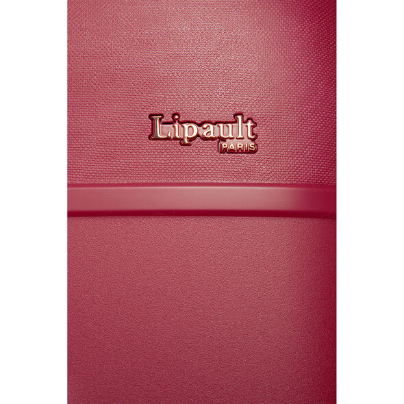 Lipault Urban Ballet Spinner 75/28 in the color Amaranth Red.