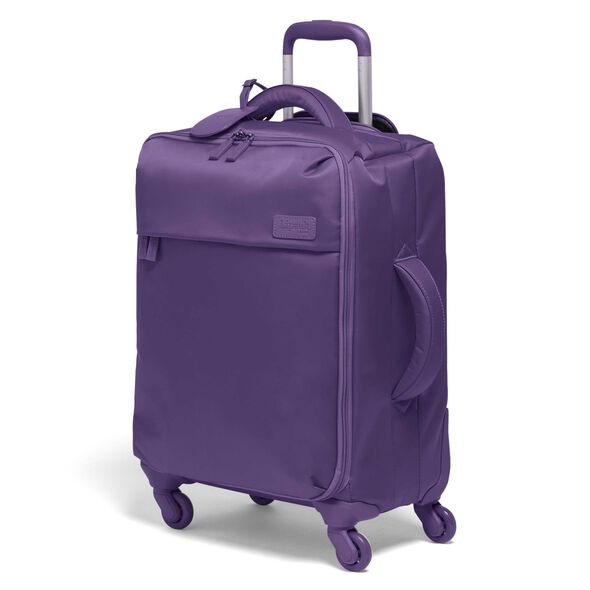 Lipault Original Plume Spinner 55/20 Carry-On in the color Light Plum.