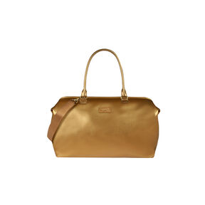 Lipault Miss Plume Weekend Bag M in the color Dark Gold.