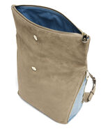 Lipault Rendez-Vous Medium Backpack in the color Dark Taupe/Icy Blue.