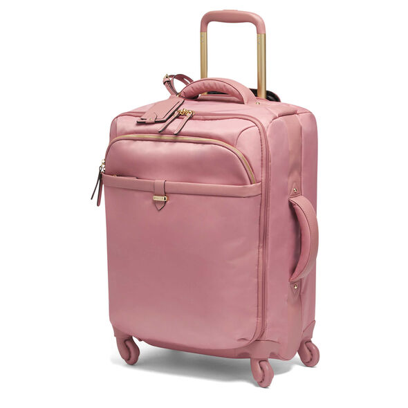 Lipault Plume Avenue Spinner 55/20 in the color Azalea Pink.
