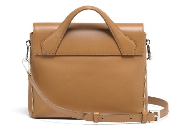 Lipault Rendez-Vous Crossbody Bag in the color Caramel.