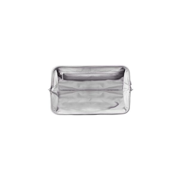 Lipault Miss Plume Toiletry Kit in the color Silver.