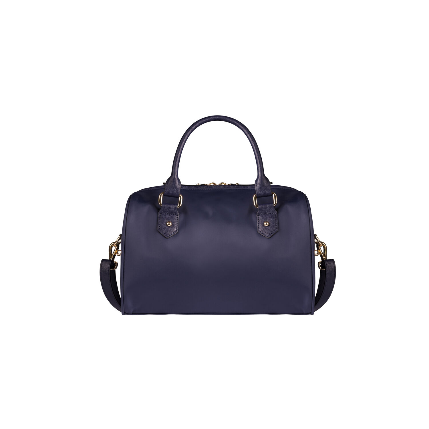 Lipault Plume Avenue Bowling Bag S In The Color Night Blue