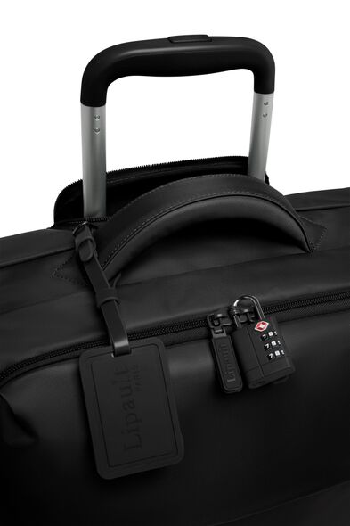 Plume Long Trip Packing Case in the color Black.