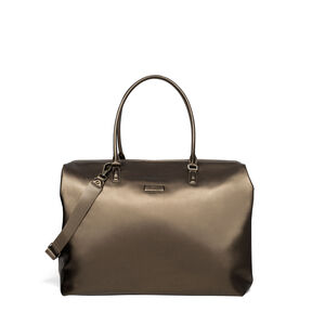 Lipault Miss Plume Weekend Bag M in the color Dark Bronze.