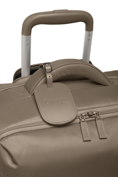 Lipault Original Plume Spinner 65/24 in the color Dark Taupe.