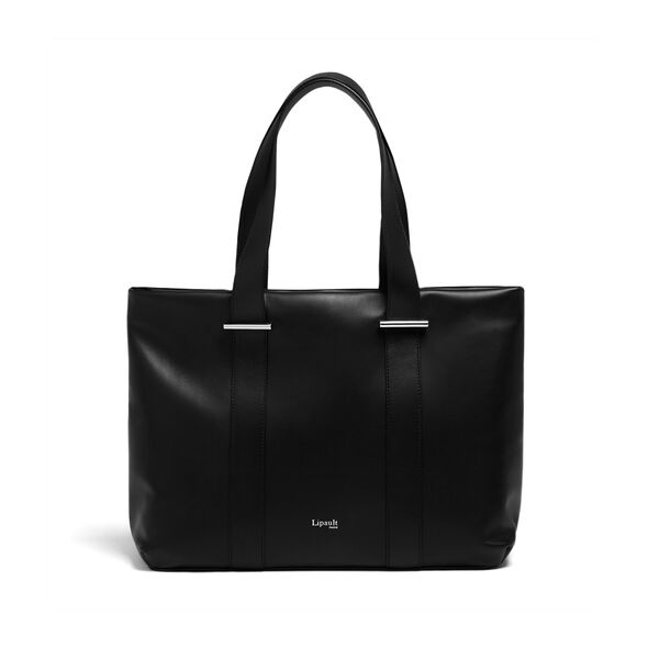 Lipault By The Seine Large Tote Bag in the color Black.