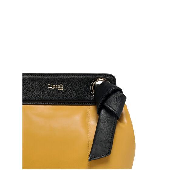 Lipault Noelie Crossbody Bag in the color Mustard.
