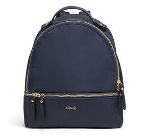 Lipault Plume Avenue Nano Backpack in the color Night Blue.