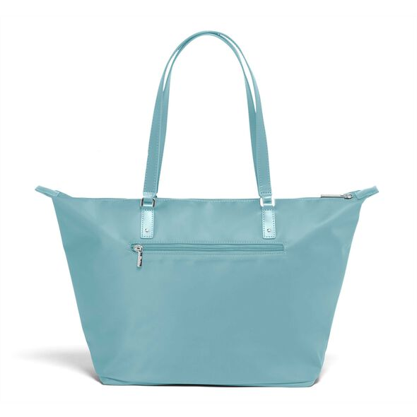 Lipault Lady Plume FL Tote Bag M in the color Coastal Blue.