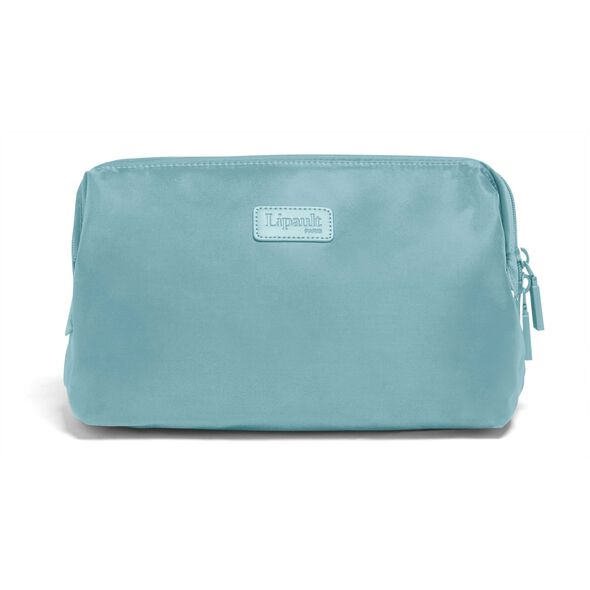"Lipault Travel Accessories 12"" Toiletry Kit in the color Coastal Blue."