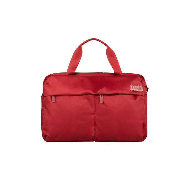Lipault City Plume 24 Hour Bag in the color Ruby.