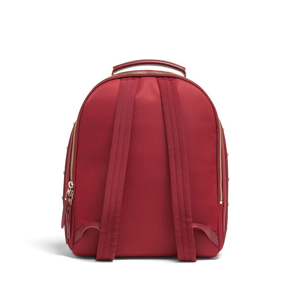 Lipault Business Avenue Backpack S in the color Garnet Red.