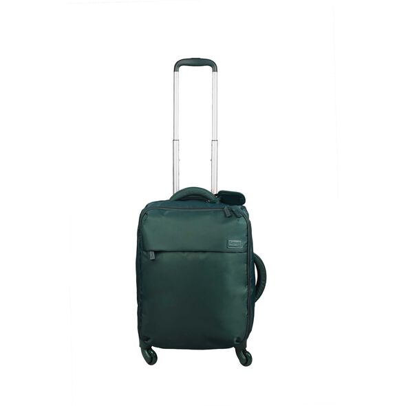 Lipault Original Plume Spinner 55/20 Carry-On in the color Forest Green.