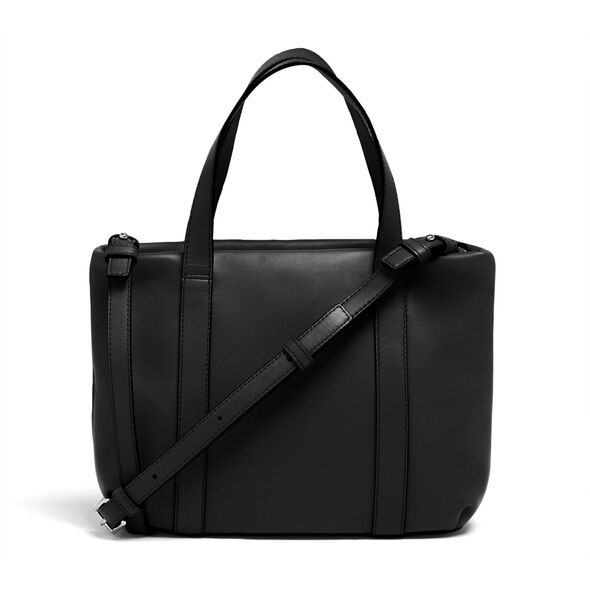 Lipault By The Seine Nano Tote Bag in the color Black.