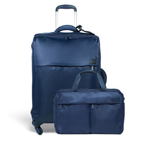 Lipault Travel Set Carry-On & Duffel in the color Navy.