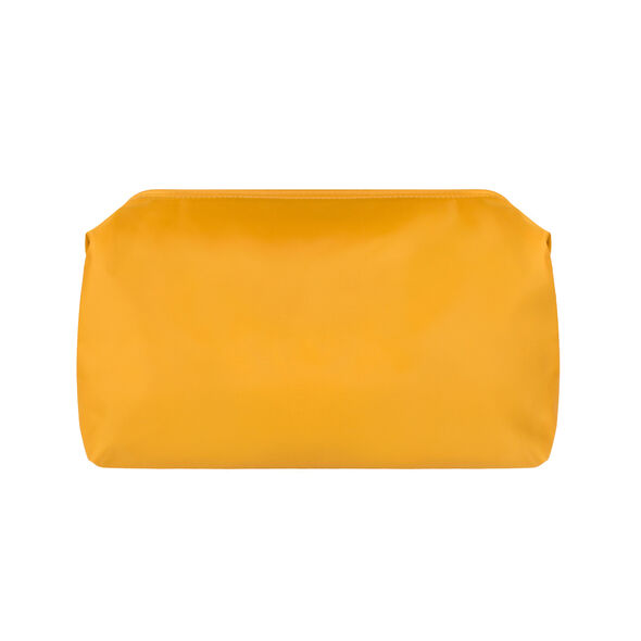 "Lipault Travel Accessories 12"" Toiletry Kit in the color Mustard."