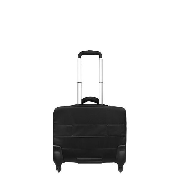 """Lipault Plume Business Spinner Tote 17"""" in the color Black."""