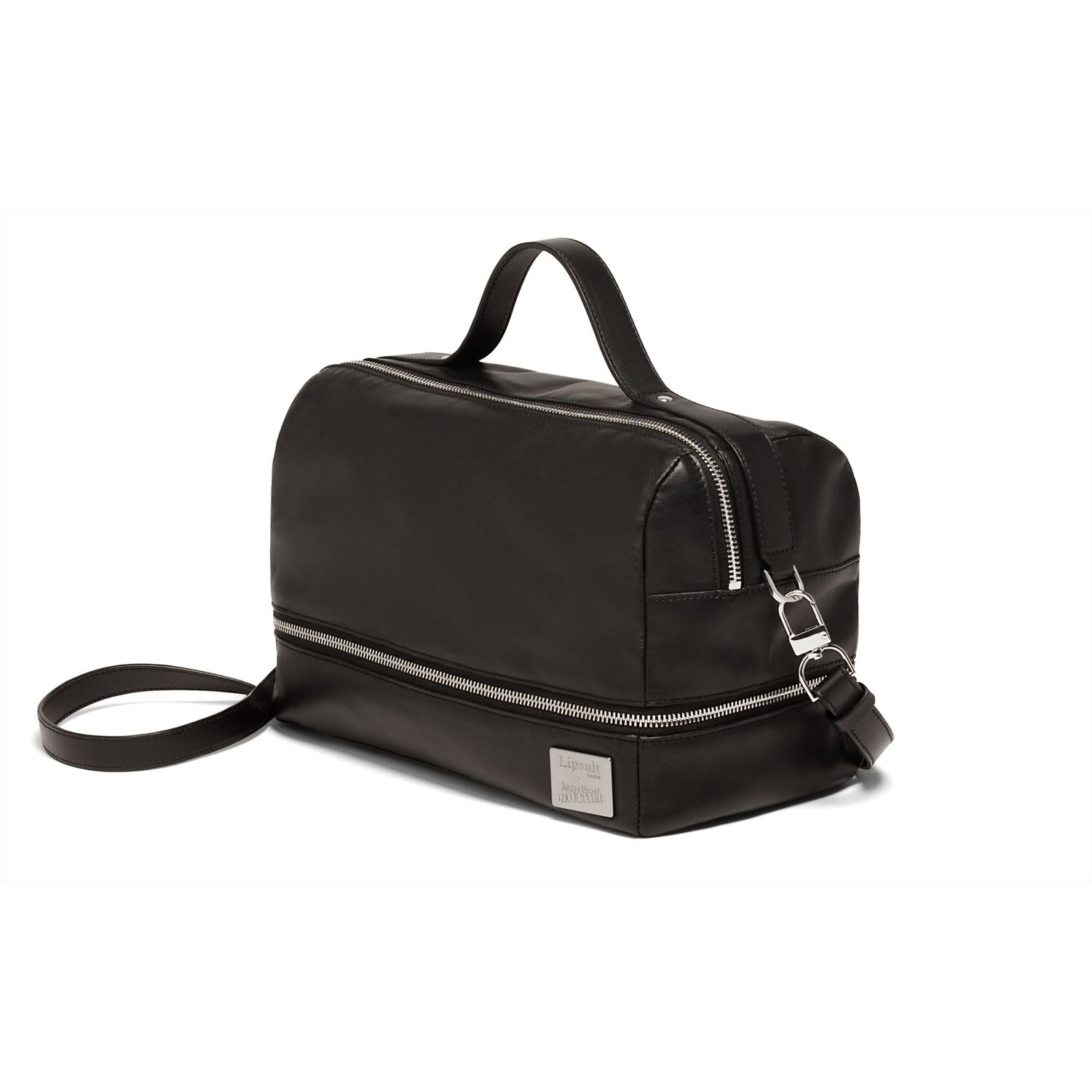6524c9f703 Lipault Jean Paul Gaultier Boston Bag in the color Black.