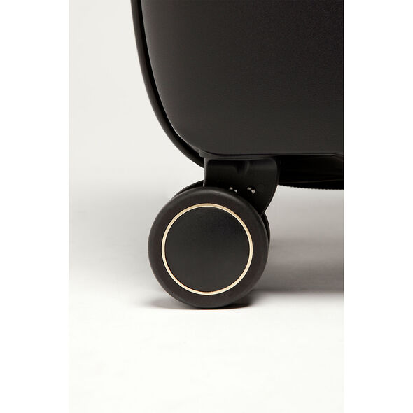 Lipault Urban Ballet Spinner 75/28 in the color Deep Black.