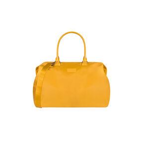 Lipault Lady Plume Weekend Bag M in the color Mustard.