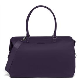 Lipault Lady Plume FL Weekend Bag M in the color Purple.