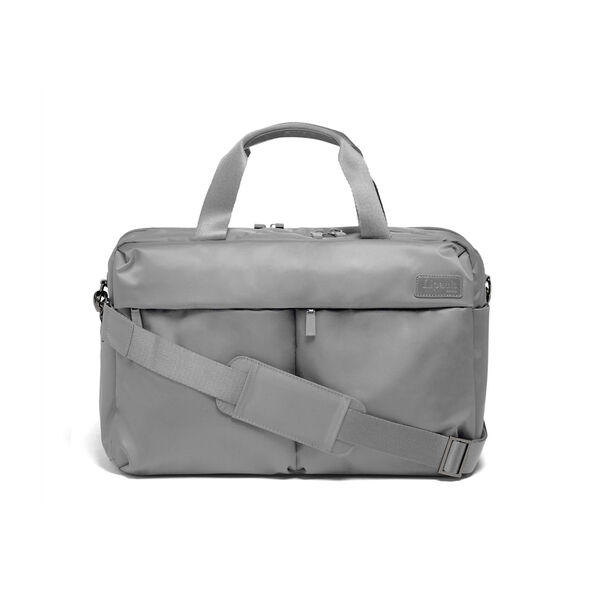 Lipault City Plume 24 Hour Bag in the color Pearl Grey.