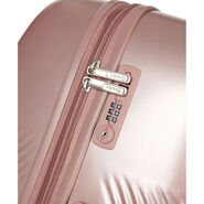 Lipault Dazzling Plume Spinner 75/28 in the color Pearl Pink.