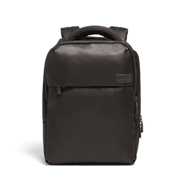 Lipault Plume Business Laptop Backpack M in the color Anthracite Grey.