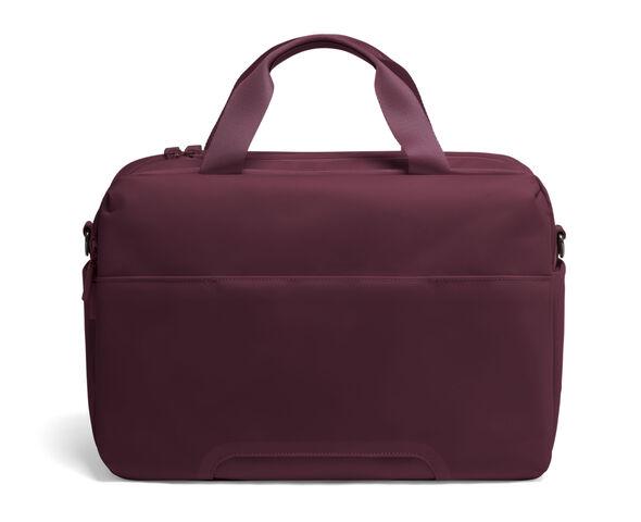 Lipault City Plume 24 Hour Bag in the color Bordeaux.